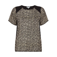 Buy Jigsaw Rope Knot Geo Sweater, Multi Online at johnlewis.com