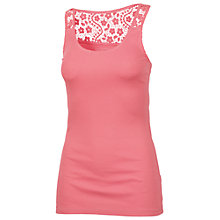 Buy Fat Face Lace Back Vest, Corabell Online at johnlewis.com