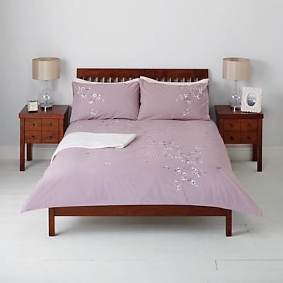John Lewis Chinese Blossom Duvet Cover and Pillowcase Set