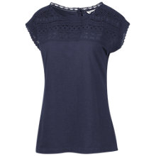 Buy Fat Face Lace Yoke Detail Top Online at johnlewis.com