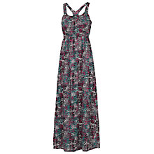Buy Fat Face Baroque Print Maxi Dress, Navy Online at johnlewis.com