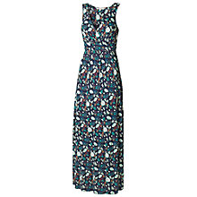 Buy Fat Face Bea Peony Floral Maxi Dress, Navy Online at johnlewis.com