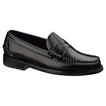 Buy Sebago Grant Leather Moccasin Shoes Online at johnlewis.com