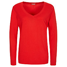 Buy Planet Pointelle Jumper, Coral Online at johnlewis.com