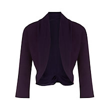 Buy Jacques Vert Chiffon Knit Trim Bolero Online at johnlewis.com