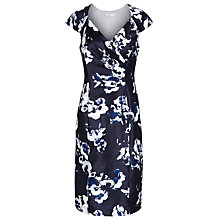 Buy Jacques Vert Orchid Print Dress, Monique Online at johnlewis.com
