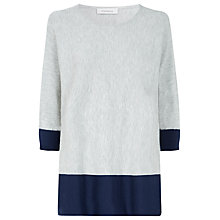 Buy Windsmoor Colour Block Easy Jumper, Metallic Online at johnlewis.com