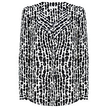 Buy Windsmoor Graphic Drop Blouse, Multi Black Online at johnlewis.com