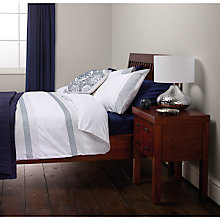 Buy John Lewis Soraya Embroidered Stripe Duvet Cover and Pillowcase Set Online at johnlewis.com