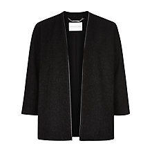 Buy Windsmoor Ripple Jacket, Black Online at johnlewis.com