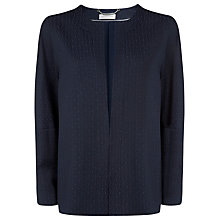 Buy Windsmoor Textured Jacket, Navy Online at johnlewis.com