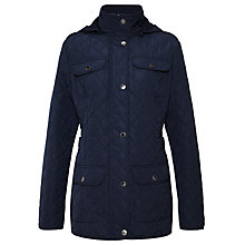 Buy Four Seasons Polar Quilted Fleece Lined Jacket Online at johnlewis.com