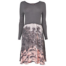 Buy Phase Eight Shadow Tree Print Dress, Slate Online at johnlewis.com