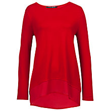 Buy Betty Barclay Long Sleeve Chiffon Hem Jumper Online at johnlewis.com