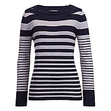 Buy Betty Barclay Stripe Slash Neck Jumper Online at johnlewis.com