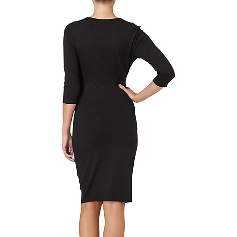Buy Phase Eight Rhia Wrap Dress, Black Online at johnlewis.com