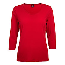 Buy Betty Barclay Three Quarter Sleeve Scoop Neck T-shirt Online at johnlewis.com