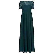 Buy Phase Eight Rowena Lace Maxi Dress, Forest Online at johnlewis.com