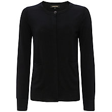 Buy Jaeger Gostwyck Cardigan, Black Online at johnlewis.com
