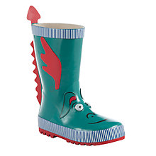 Buy John Lewis 3D Dragon Wellington Boots Online at johnlewis.com