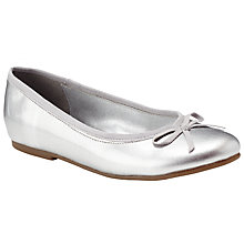 Buy John Lewis Olive Patent Ballet Pumps Online at johnlewis.com
