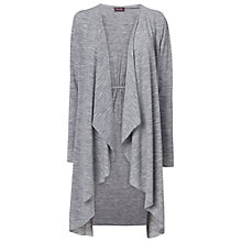 Buy Phase Eight Lea Wool Mix Cardigan, Grey Marl Online at johnlewis.com