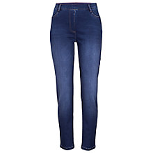 Buy Betty Barclay Four Pocket Perfect Body Jeans, Deep Blue Online at johnlewis.com