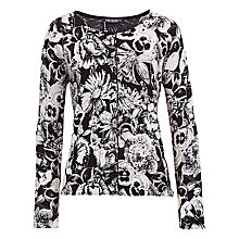Buy Betty Barclay Flower Print Button Cardigan Online at johnlewis.com