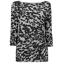 Buy Phase Eight Hollie Butterfly Jumper, Black/Grey Online at johnlewis.com