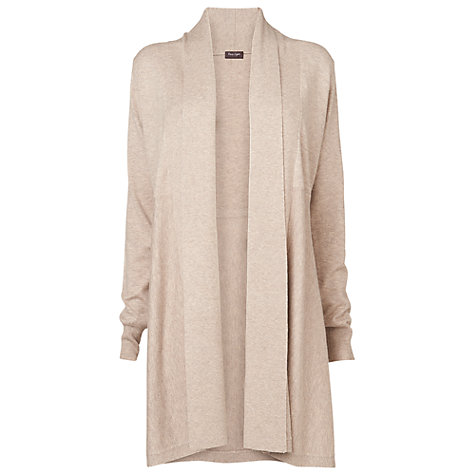 Buy Phase Eight Lili Longline Cardigan, Oatmeal Online at johnlewis.com