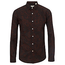 Buy Dockers All Over Floral Print Shirt, Black Online at johnlewis.com