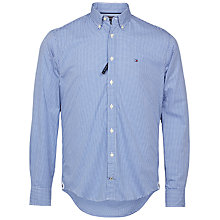 Buy Tommy Hilfiger Ivy Check Shirt, Navy Online at johnlewis.com