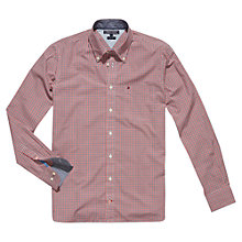 Buy Tommy Hilfiger Darwin Check Shirt, Blue/White Online at johnlewis.com