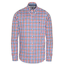 Buy Tommy Hilfiger Maddock Check Shirt, Blue/Red Online at johnlewis.com