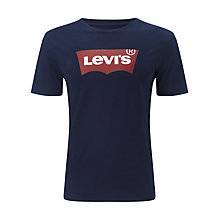 Buy Levi's New Batwing T-Shirt, Dress Blues Online at johnlewis.com