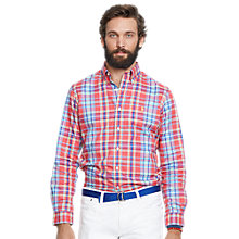 Buy Polo Ralph Lauren Slim Check Oxford Shirt Online at johnlewis.com