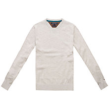 Buy Tommy Hilfiger Nicklas Crew Neck Cotton Jumper Online at johnlewis.com