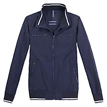 Buy Tommy Hilfiger New Matt Bomber Jacket, Navy Blazer Online at johnlewis.com