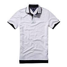 Buy Tommy Hilfiger Slim Fit Chad Polo Shirt, White Online at johnlewis.com