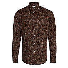 Buy Dockers All Over Floral Print Shirt, Chocolate Online at johnlewis.com