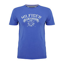 Buy Tommy Hilfiger Amos Logo T-Shirt Online at johnlewis.com