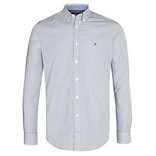Buy Tommy Hilfiger Eli Striped Cotton Shirt, Anchor Blue Online at johnlewis.com