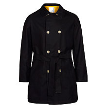 Buy Pret Pour Partir Gary Fleece Lined Mac, Black Online at johnlewis.com