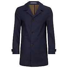 Buy Tommy Hilfiger Falko Cotton Mid Length Coat, Midnight Online at johnlewis.com