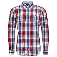 Buy Tommy Hilfiger Berend Check Shirt, Red/Blue Online at johnlewis.com