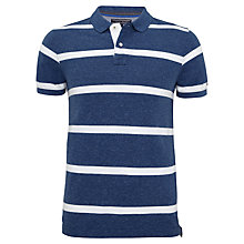 Buy Tommy Hilfiger Banksi Striped Polo Shirt, Navy Online at johnlewis.com