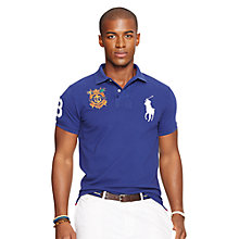 Buy Polo Ralph Lauren Slim Fit Crested Big Pony Polo Shirt Online at johnlewis.com