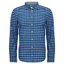 Buy Tommy Hilfiger Merrill Slim Check Shirt, Navy Blazer/Anchor Blue Online at johnlewis.com