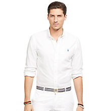 Buy Polo Ralph Lauren Slim Fit Oxford Shirt Online at johnlewis.com