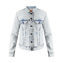 Buy Levi's Mid Wash Trucker Jacket, Surf Love Online at johnlewis.com